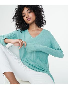 Lld Long Sleeve Side Ruffle V Neck Top*** by Aeropostale