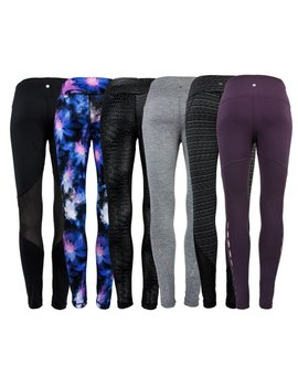 90 Degree By Reflex Women's Fashion Mystery Leggings Assorted Xs by 90 Degree By Reflex