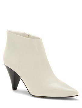 Adriela Leather Booties by Vince Camuto