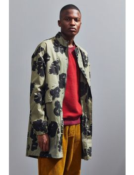 Native Youth Forest Floral Parka Jacket by Native Youth