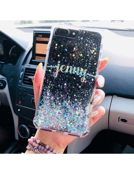 Diamond Glitter Phone Case I Phone 7 Case I Phone 7 Plus Case I Phone 6s Case I Phone Case I Phone 8 Case I Phone 8 Plus Case I Phone X Case by Etsy