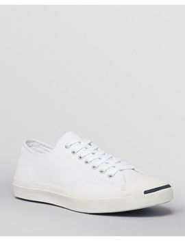 """Jack Purcell"" Leather Sneakers by Converse"