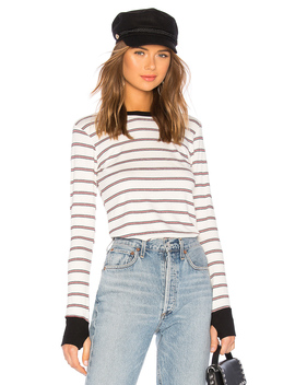 Fenton Long Sleeve Fitted Top by Michael Lauren