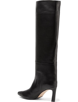 Emiline Leather Knee Boots by Stuart Weitzman