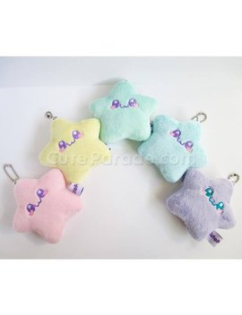 Pastel Twinkling Star Baby Plush Charm Fairy Kei Lolita Kawaii by Etsy