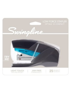 Swingline Optima 25 Compact Stapler Blue/Gray by Swingline