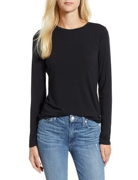 Softened Jersey Long Sleeve Layering Tee by Lou & Grey