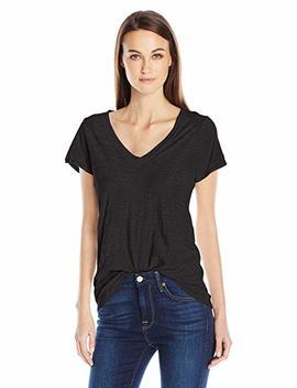 Velvet By Graham & Spencer Women's Originals V Neck T Shirt by Velvet By Graham & Spencer
