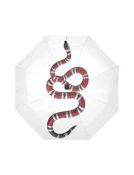 White Red Black Garden Snake   Umbrella by Etsy