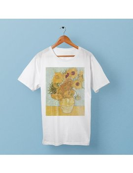 Sunflowers   Vincent Van Gogh Shirt by Etsy