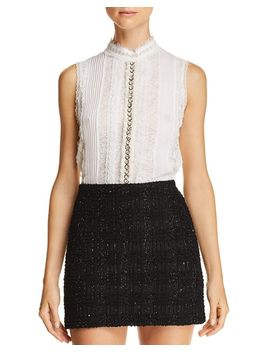 Valentine Embellished Top by Alice And Olivia