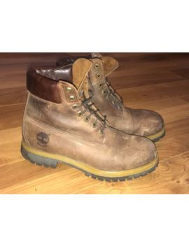 Mens Timberland 6 Inch Premium Leather Boots Uk Sz 7.5, Us 8w by Ebay Seller