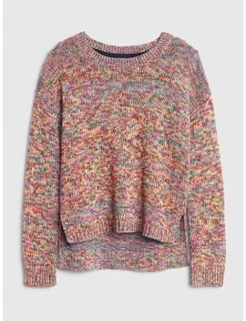 Rainbow Crewneck Sweater by Gap