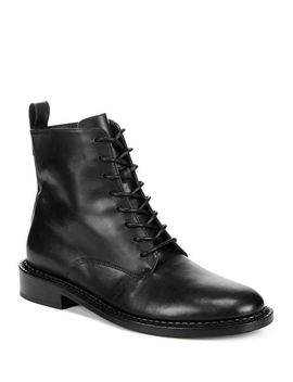Women's Cabria Leather Lace Up Boots by Vince