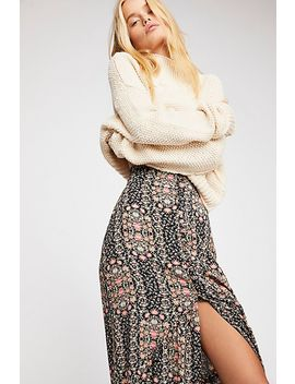 Unbutton Me Maxi Skirt by Free People