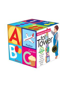 Alphabet Tower by Eeboo