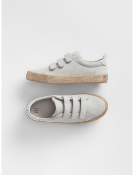 Glitter Strappy Sneakers by Gap