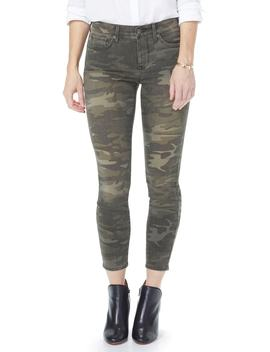 Ami High Waist Camo Ankle Skinny Jeans by Nydj