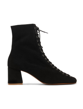 Becca Suede Ankle Boots by By Far