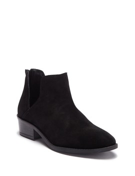 Laramie Suede Cutout Ankle Boot by Steve Madden
