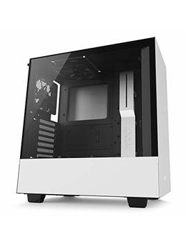 Nzxt H500 Atx Computer Case, Ca H500 B W1, White/Black by Nzxt