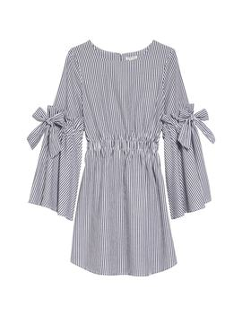 Rosie Bell Sleeve Stripe Dress by Habitual