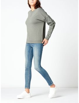 Corded Sleeve Sweat by Label Lab