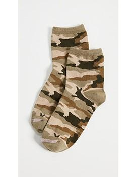Camo Bunny Ankle Mid Socks by Madewell