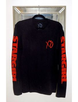 Rare The Weeknd Xo Stargirl Long Sleeved Tee   Official Merch by Ebay Seller