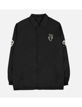 The Weeknd Xo Heart Logo Coach Jacket All Sizes! Brand New! by Ebay Seller
