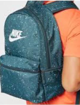 Nike Sportswear Heritage Printed Dark Green Backpack  Ba5761 328 *New* by Nike