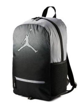 Nike Jordan Jumpman Youth Daybreaker Backpack Black Gray Laptop 9 A1836 K26 New by Nike Jordan