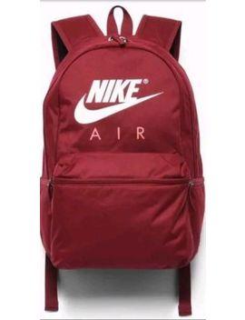Nike Air Team Red (Dark) / White Unisex Backpack ( Ba5777 677 )    Nwt by Nike