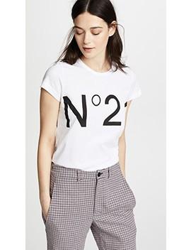 No. 21 Logo Tee by No. 21
