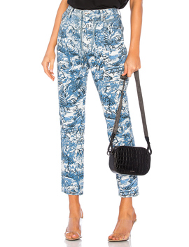 Tapestry Tight Crop Jean by Off White
