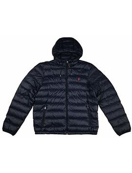 Polo Ralph Lauren Men's Hooded Down Jacket, Packable by Polo Ralph Lauren