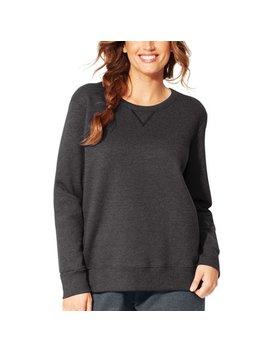 Women's Plus Size Fleece Sweatshirt by Just My Size