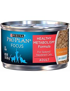 Purina Pro Plan Focus Healthy Metabolism Formula Adult Wet Cat Food   (24) 3 Oz. Cans by Purina Pro Plan