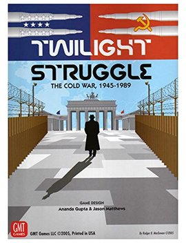 Gmt Games Twilight Struggle Deluxe Edition by Gmt Games