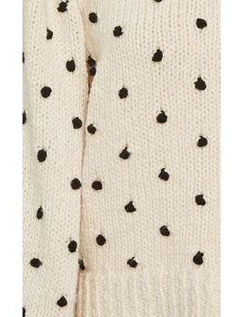 Adalene Polka Dot Pullover by Ulla Johnson