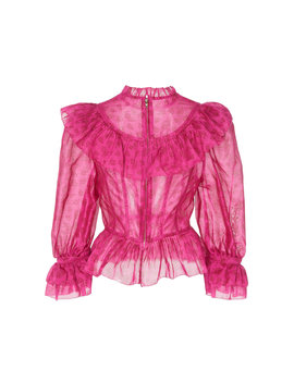 Edna Cotton And Silk Blend Top by Ulla Johnson
