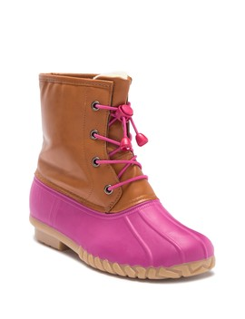 Pink Duck Boot (Toddler, Little Kid, & Big Kid) by Olivia Miller