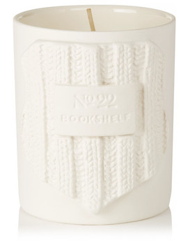 Bookshelf Scented Candle, 600g by No.22