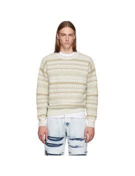 Off White Alder Sweater by Napa By Martine Rose