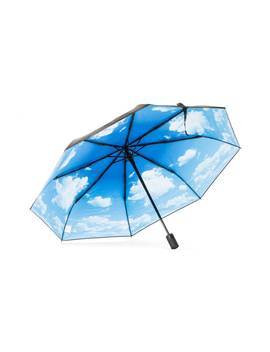 Blue Sky Umbrella by Happysweeds