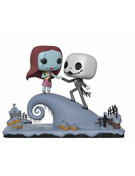 Funko Pop Movie Moment: Nightmare Before Christmas   Jack And Sally On The Hill Collectible Figure, Multicolor by Fun Ko