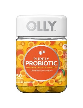 Olly Purely Probiotic Vitamin Dietary Supplement Gummies   Tropical Mango   50ct by Shop This Collection