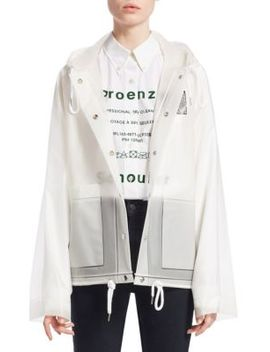 Transparent Rain Coat by Proenza Schouler Pswl