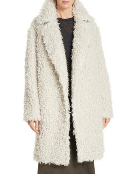 Shaggy Faux Fur Coat by Vince