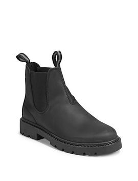 Leather Chelsea Boots by Black Brown 1826
